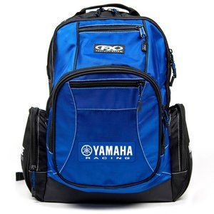 Yamaha Racing Premium Backpack by Factory Effex